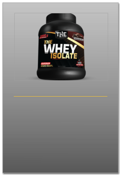 PROTEINE WHEY ISOLATE DEL SIERO DEL LATTE THE NUTRITION ITALIA